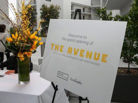 The Avenue Hollywood Grand Opening