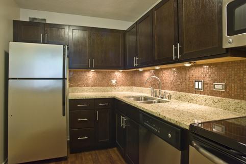 Remodeled Kitchen at Cityfront Place