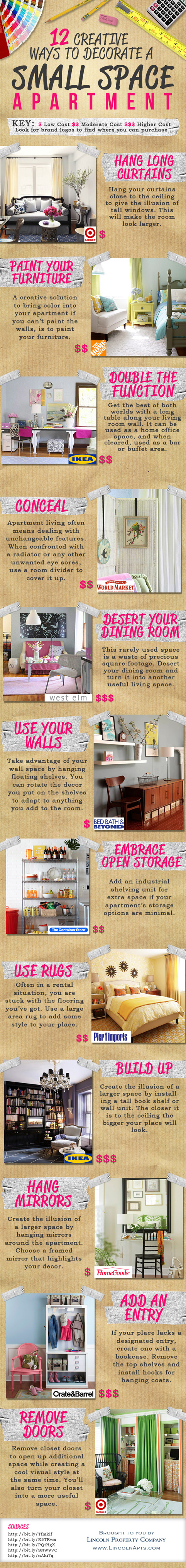 Creative Ways To Decorate Small Space