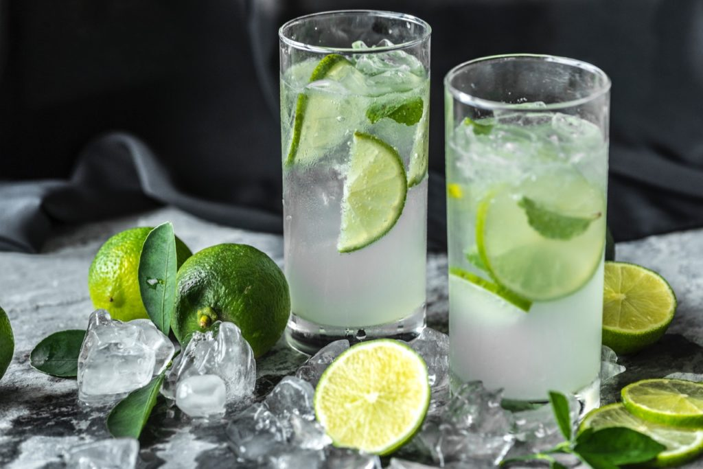 two mojitos