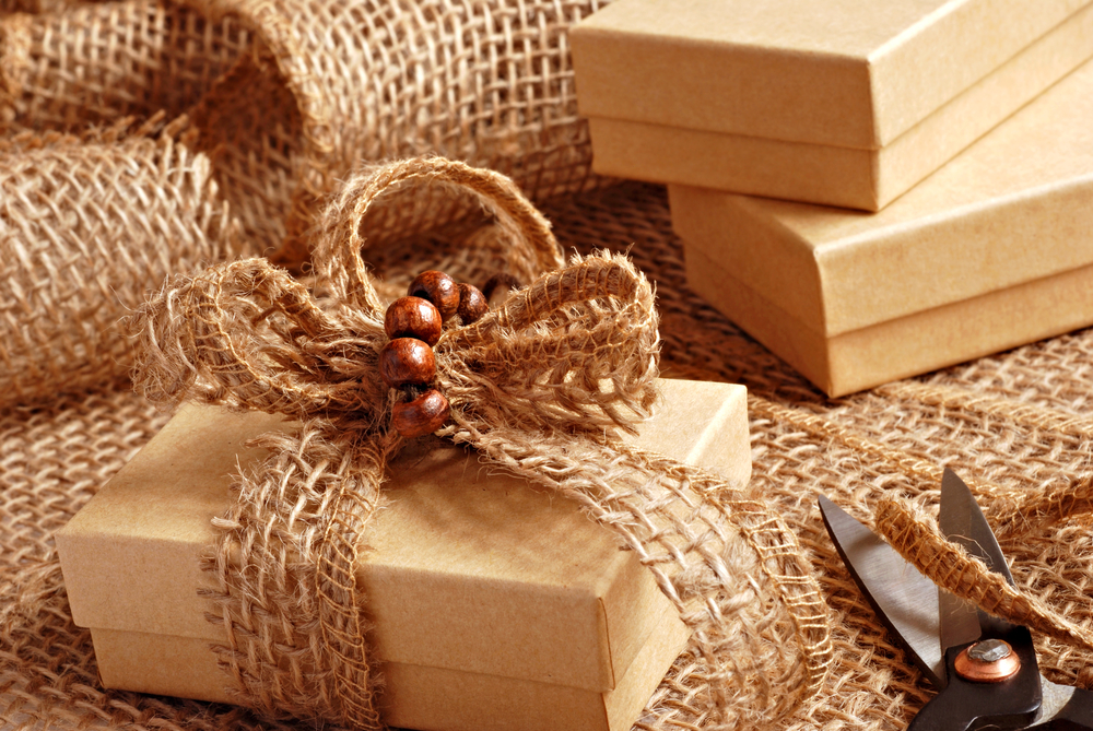 eco-friendly wrapping paper