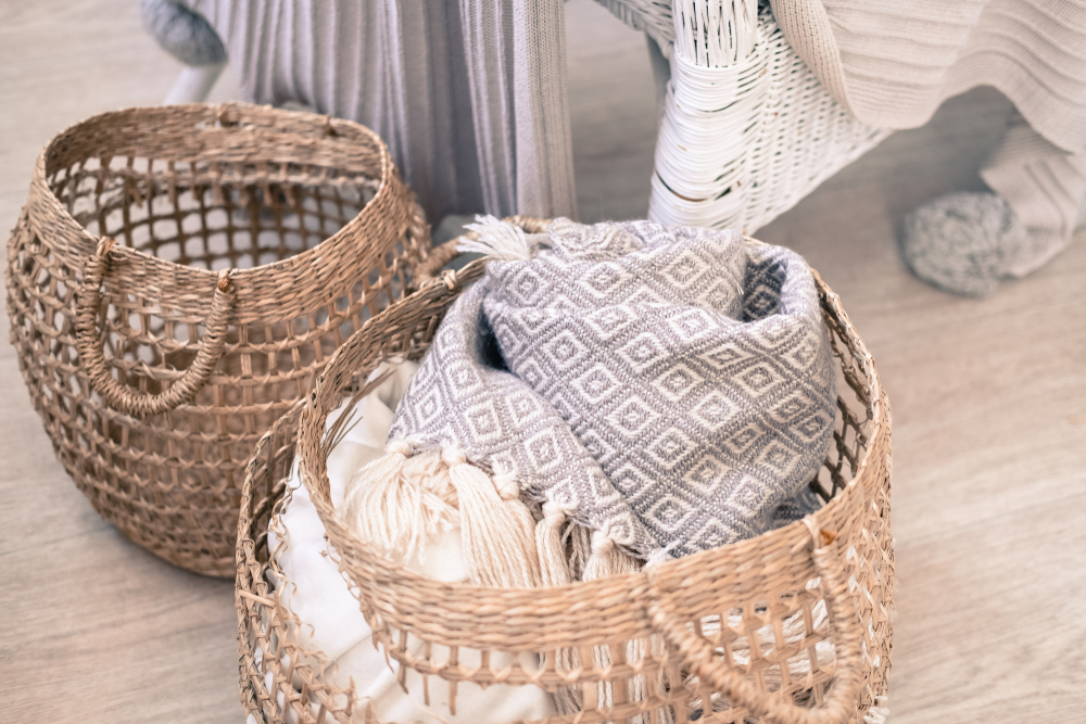 blanket basket