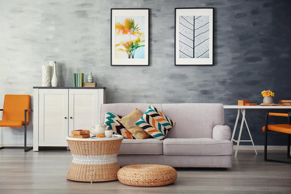 a stylish living room