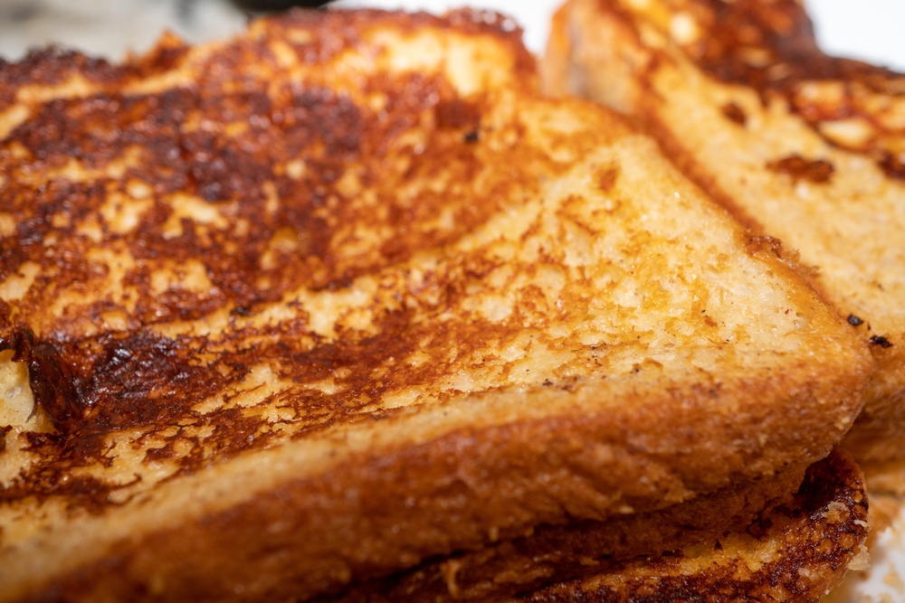 close-up of french toast | spring recipes