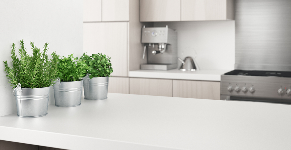 kitchen counter | how to make an apartment look more adult