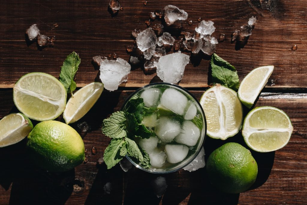 green cocktail | spring recipes