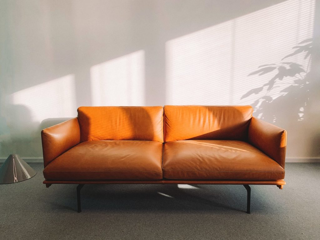 couch | affordable ways to decorate a living room