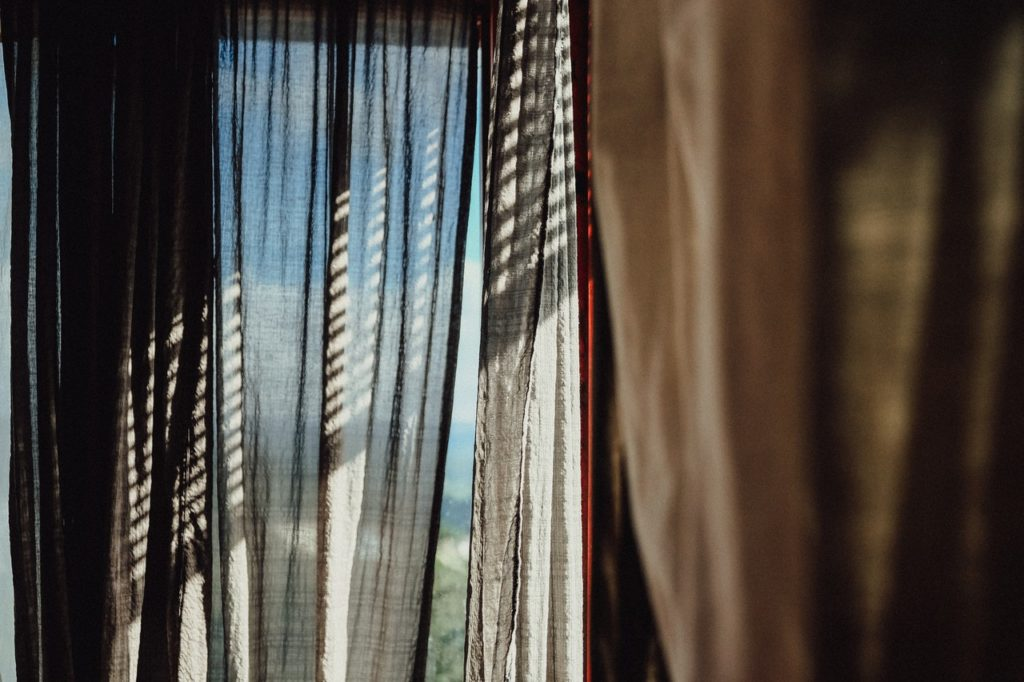 sheer curtains | summer decor for the bedroom