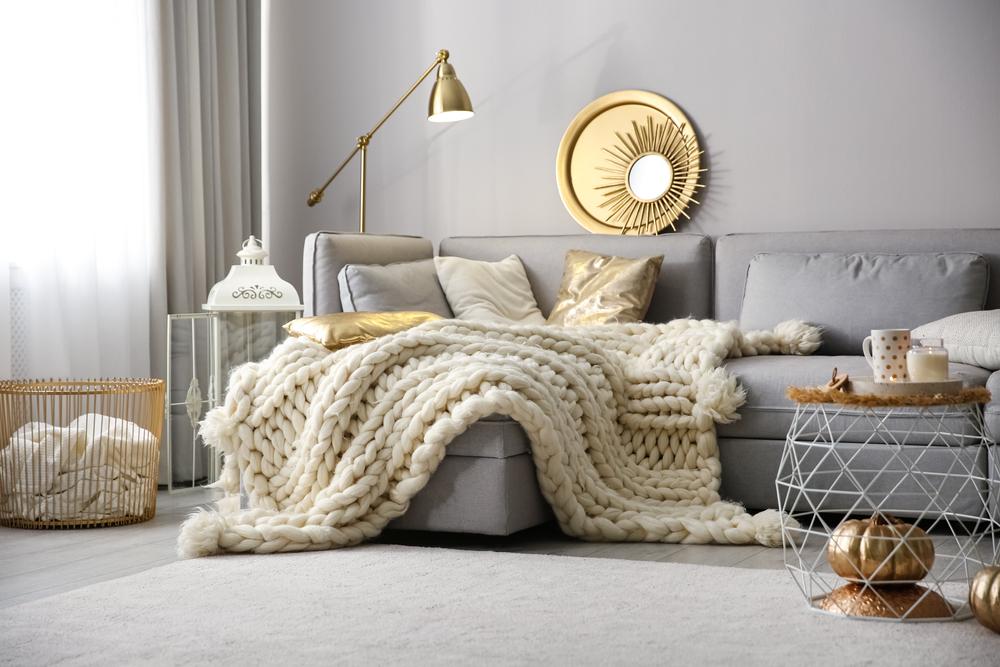 fall home decor | cozy living room